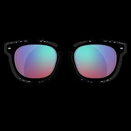 Blaue Wayfarer-Sonnenbrille