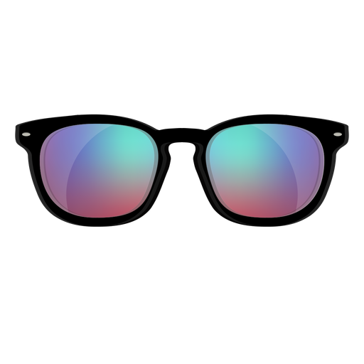 Blue wayfarer sunglasses Transparent PNG