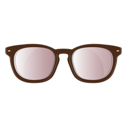 Brown frame wayfarer sunglasses