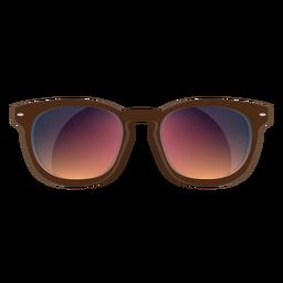 Óculos de sol Brown Wayfarer