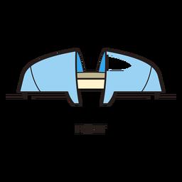 Logotipo do estádio de futebol Fisht