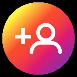 Botón de descubrir personas de Instagram