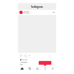 Instagram follow profile screen