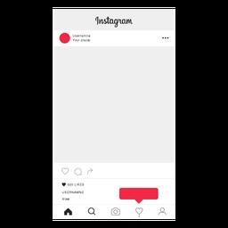 Instagram Profilbildschirm folgen