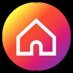 Instagram-Startknopf
