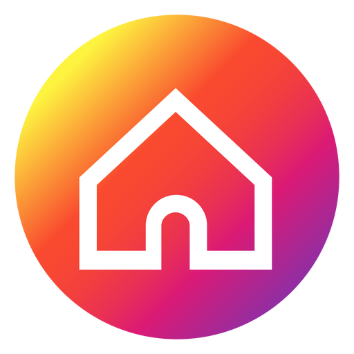 Instagram home button - Transparent PNG & SVG vectorHome Logo Png
