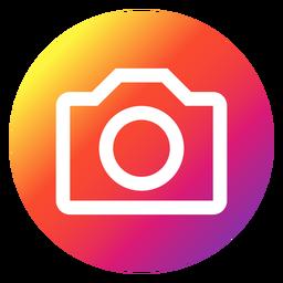 Botão de foto do Instagram