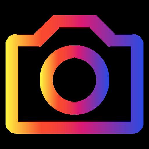 Instagram photo icon Transparent PNG