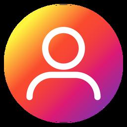 Instagram profile button