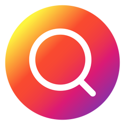 Botón de búsqueda de Instagram