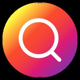 Botão de pesquisa do Instagram