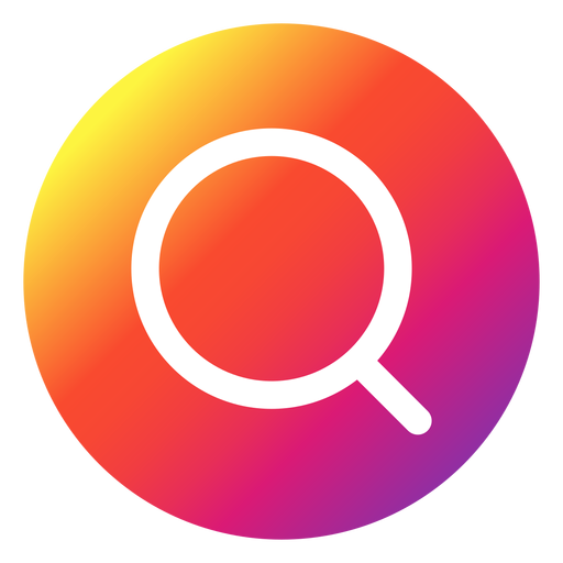 Instagram search button Transparent PNG