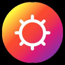 Botão de configurações do Instagram