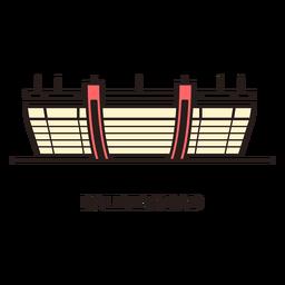 Logotipo do estádio de futebol de Kaliningrad