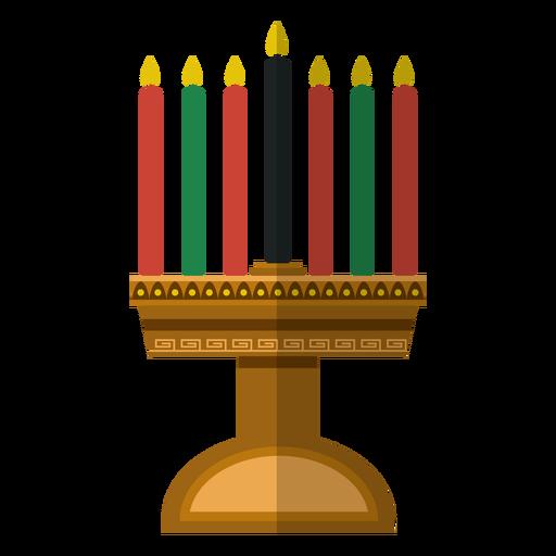Kwanzaa Kerzenständer-Symbol Transparent PNG