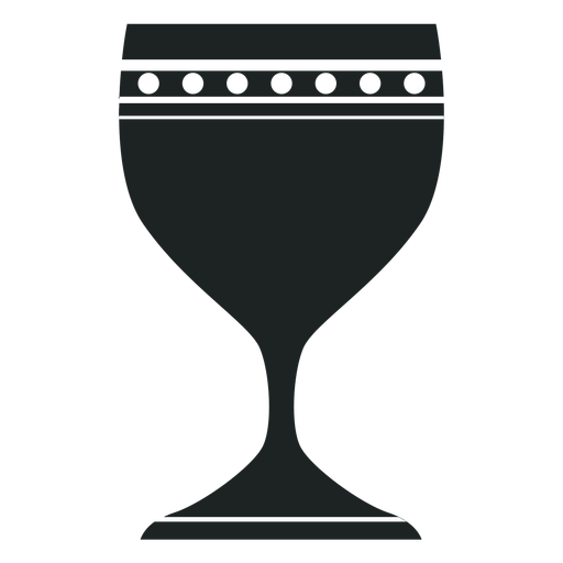 Kwanzaa chalice grey icon Transparent PNG