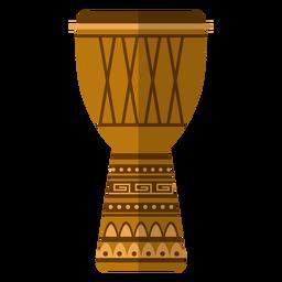 Kwanzaa djembe icon