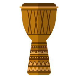 Kwanzaa djembe ícone