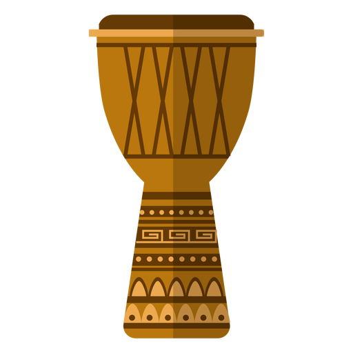 Kwanzaa djembe icon Transparent PNG