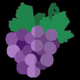 Icono de racimo de uva Kwanzaa