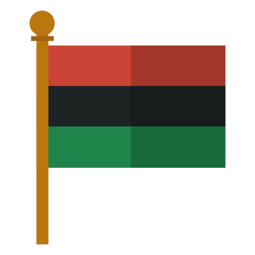 Kwanzaa pan african flag icon Transparent PNG