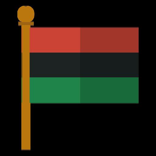 Kwanzaa Pan afrikanische Flag-Symbol Transparent PNG
