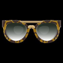 Gafas de sol del clubmaster Leopardo