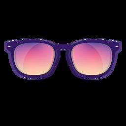 Gafas de sol rosadas del caminante