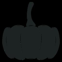 Kürbis graues Symbol