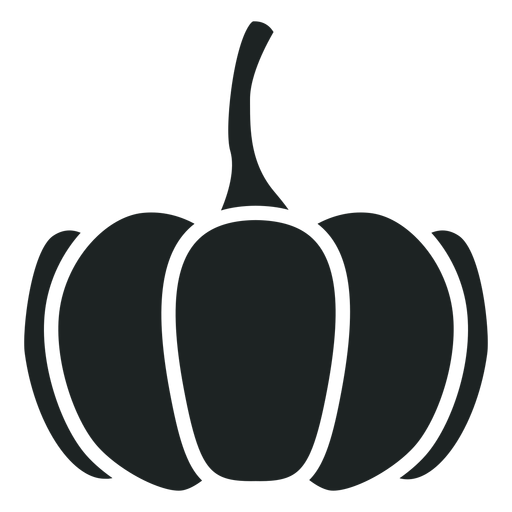 Pumpkin grey icon Transparent PNG