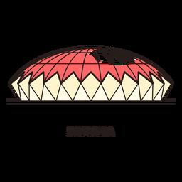 Logotipo do estádio de futebol de Samara