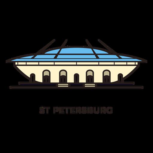 St petersburg football stadium logo Transparent PNG