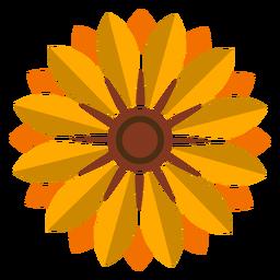 Icono de cabeza de girasol