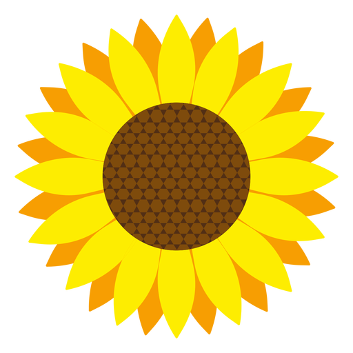 sunflower head vector transparent png svg vector rh vexels com sunflower vector art sunflower vector silhouette