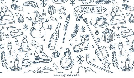 Wintermuster Abbildung