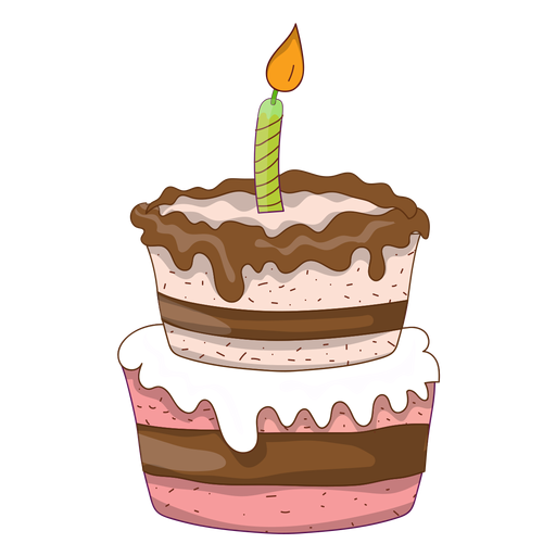 Birthday cake cartoon png