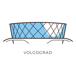 Logotipo del estadio de fútbol volgogrado