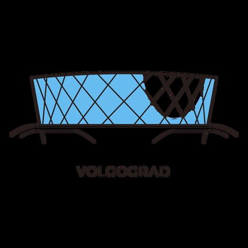 Volgograd football stadium logo Transparent PNG