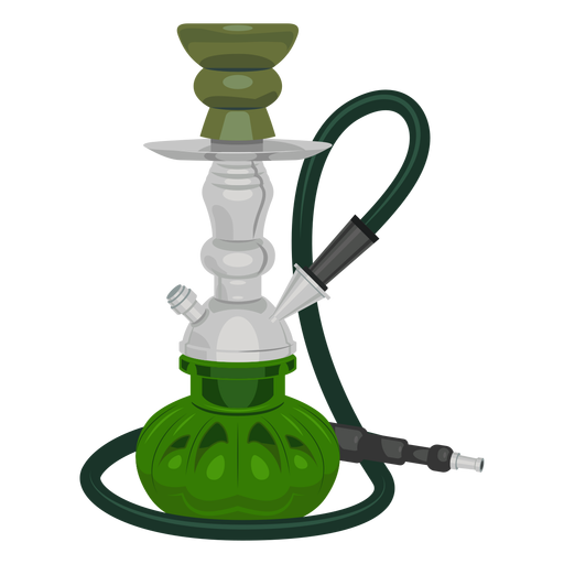 Smoking hookah illustration Transparent PNG
