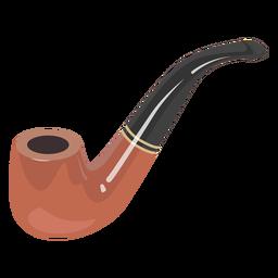 Ilustração do tubo de fumar