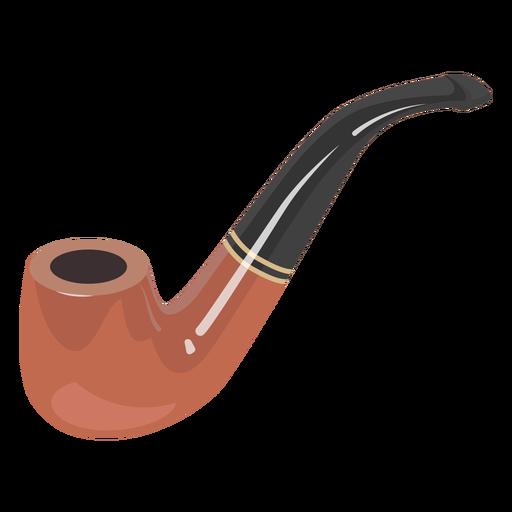 Ilustración de pipa de fumar