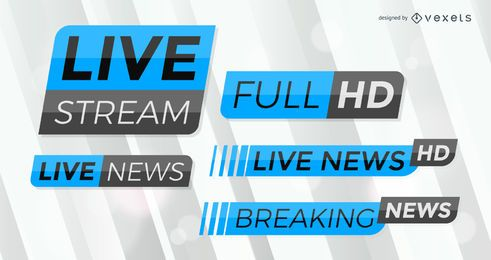 Breaking News label set