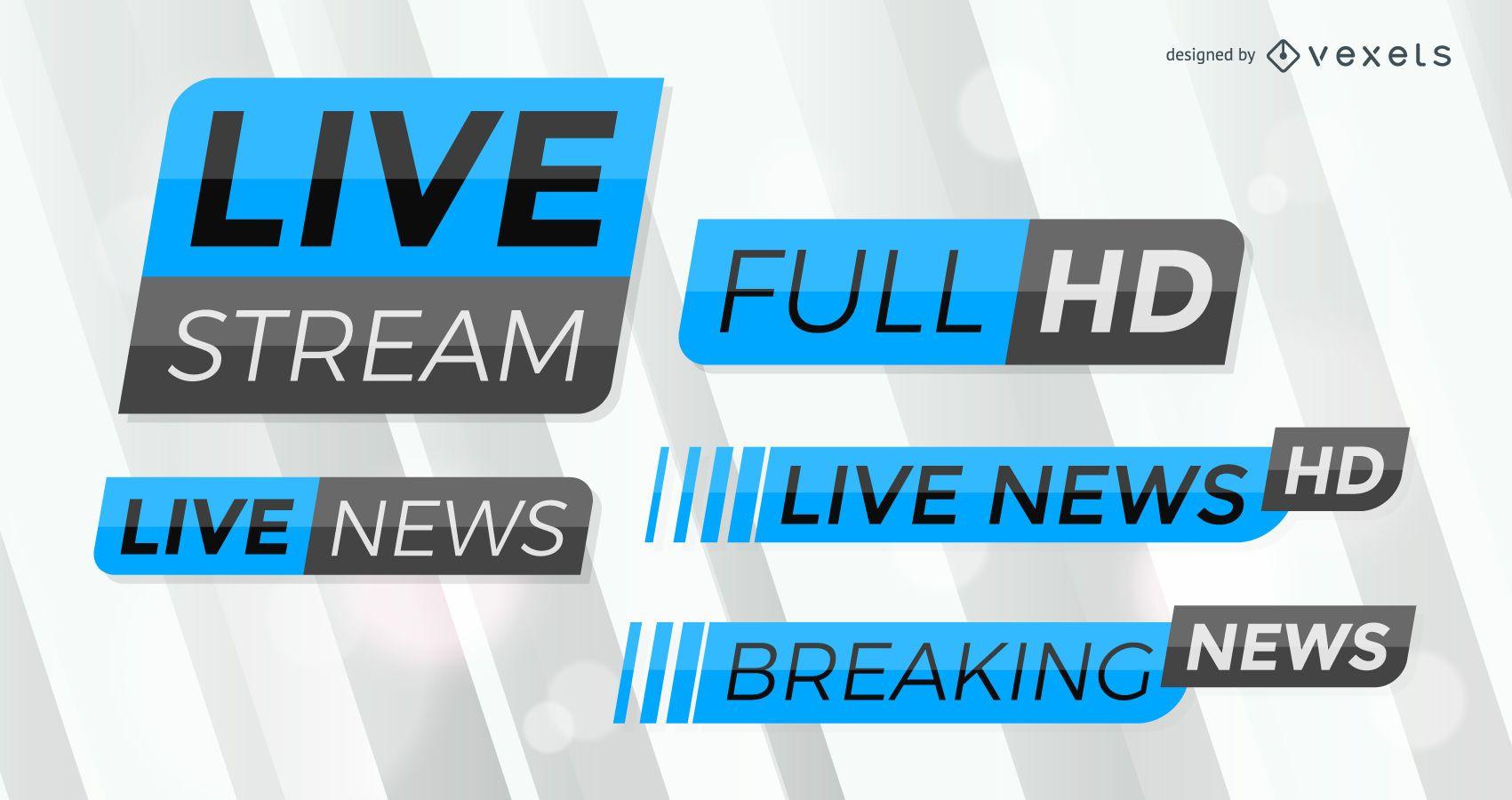 Breaking News label set