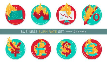Business burn rate set