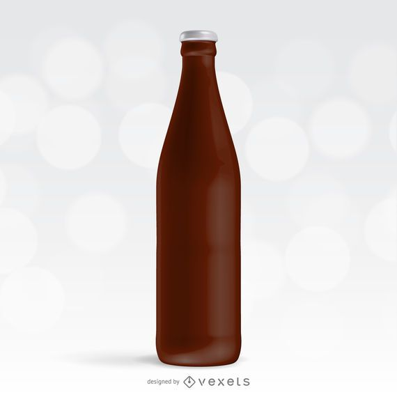 Maqueta botella de soda
