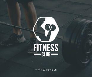 Plantilla de logotipo de club de fitness