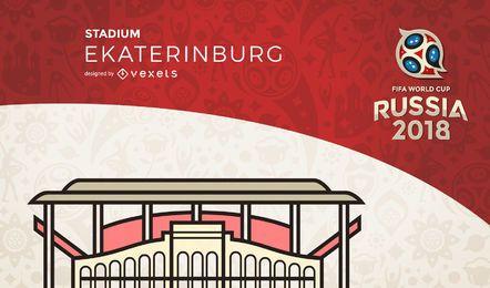 Rusia 2018 estadio de Ekaterinburgo