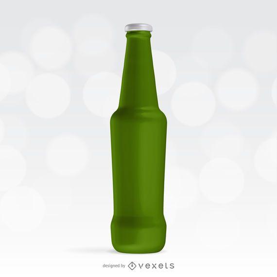 Soda-Flasche Mockup-Vorlage