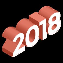 2018 3d logo