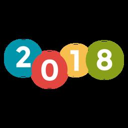 2018 burbujas